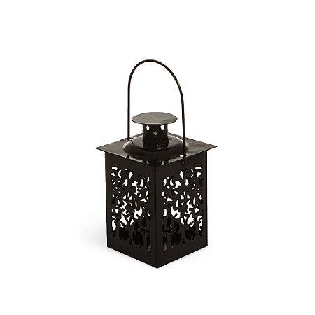 Mini Lanterna Marroquina Preta