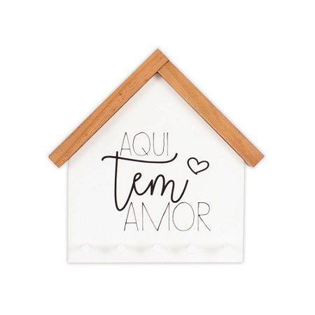 Porta Chaves Aqui Tem Amor
