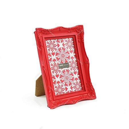 Porta Retrato Vintage Vermelho 10x15