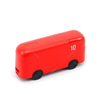 Carregador Portátil Ônibus de Londres Vermelho