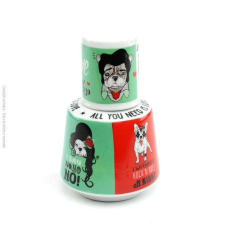 Moringa de Porcelana Monsters of Dog