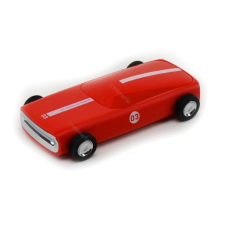 Carregador Portátil Carro Vermelho