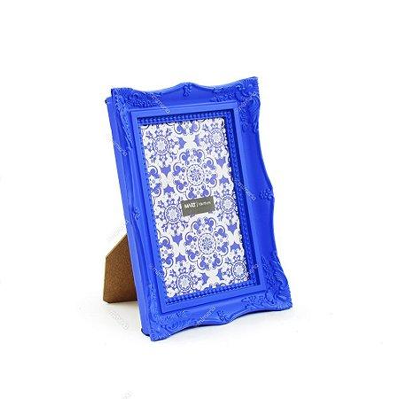 Porta Retrato Vintage Azul Royal 10x15