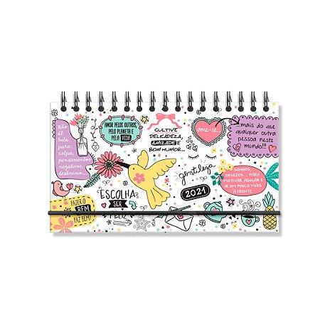 Agenda 2021 Semanal Beija-Flor Mini