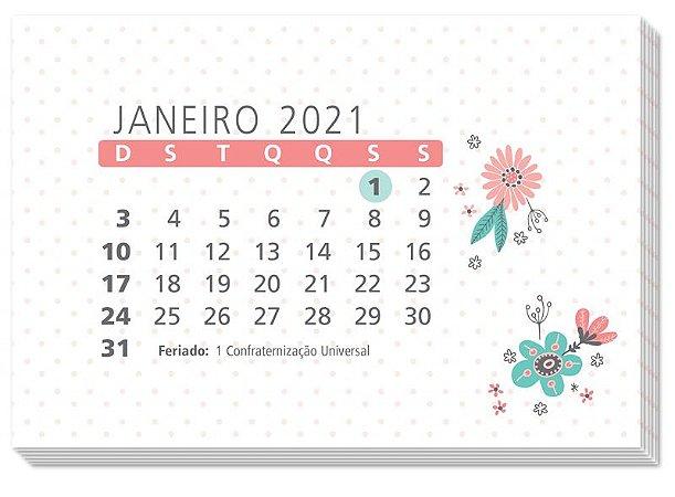 Refil Calendário de Mesa 2021