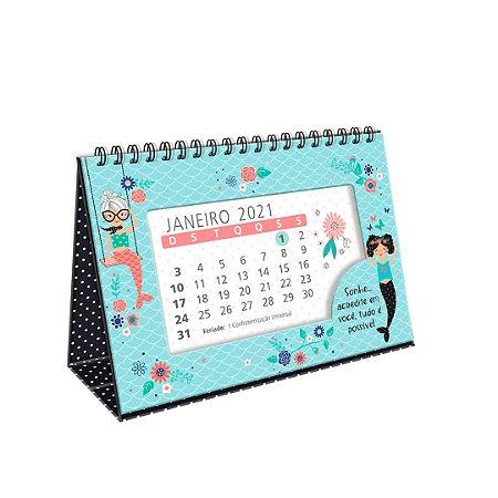 Calendário de Mesa 2021 Sereias