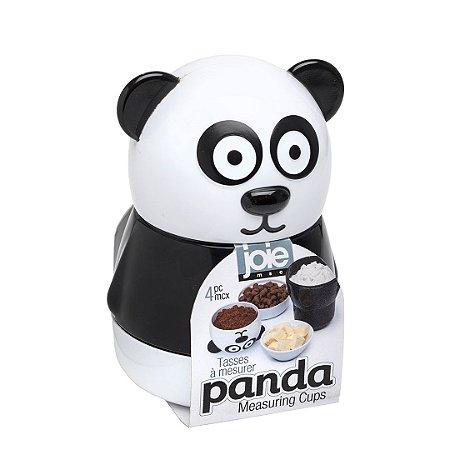 Kit 4 Copos de Medidas Empilháveis Panda Joie