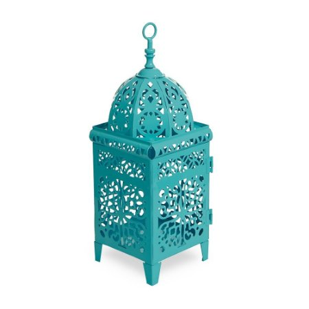 Lanterna Marroquina Turquesa