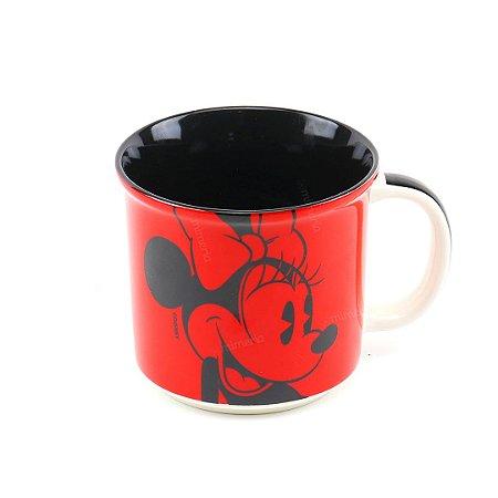 Caneca de Cerâmica Decorativa Minnie Clássico