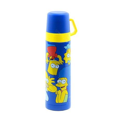 Garrafa Térmica com Xícara Simpsons 500 ml