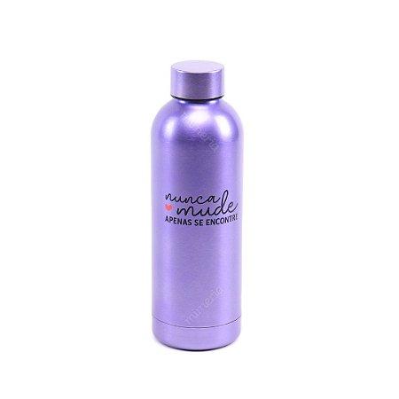 Garrafa Térmica de Inox Nunca Mude 550 ml