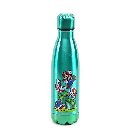 Garrafa Térmica de Inox Mario Plantas