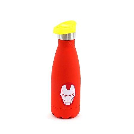 Garrafa Térmica de Inox Iron Man