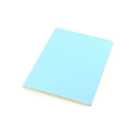 Planner Mensal Revista Azul Claro Pastel