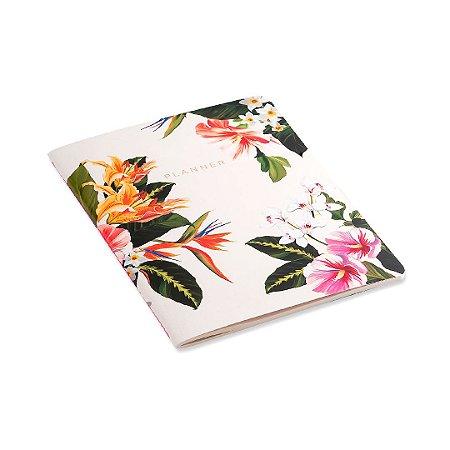Planner Mensal Revista Tropical Flora