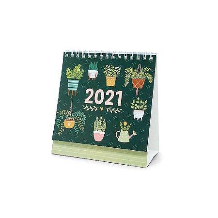 Calendário de Mesa 2021 Garden
