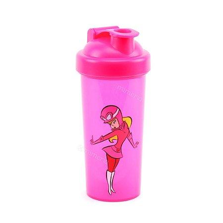 Garrafa Shake de Plástico Penélope Charmosa Rosa