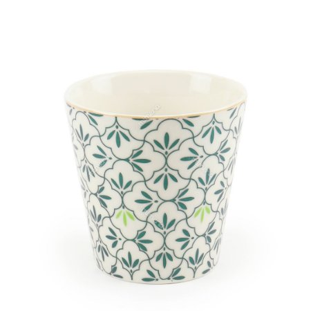 Vaso de Cerâmica Decorativo Botânico