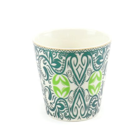 Vaso de Cerâmica Decorativo Arabescos