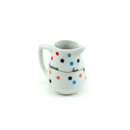 Mini Jarra de Porcelana Mini Dots