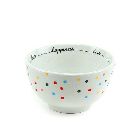 Bowl de Porcelana Mini Dots 600 ml