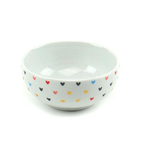 Bowl de Porcelana Coração 500 ml
