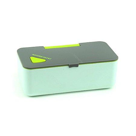 Pote Marmita com Porta Celular Verde