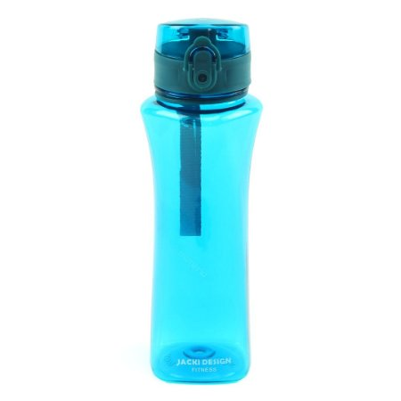 Garrafa Squeeze com alça 550 ml Azul Claro