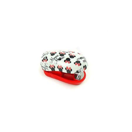Grampeador Mini Vermelho Minnie Mouse