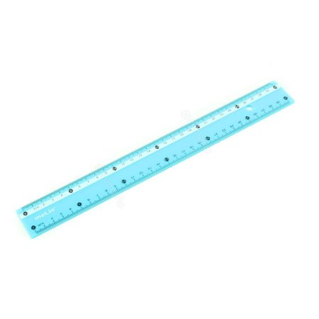 Régua Milimetrada 30 cm Azul Pastel