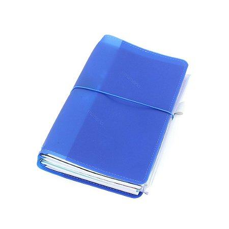 Planner Ever Case Colors Azul Anil Fazer Acontecer