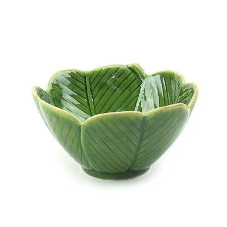 Bowl de Cerâmica Folha Médio