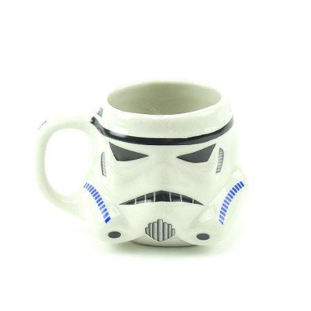 Caneca Decorativa de Porcelana 3D Star Wars Stormtroopers