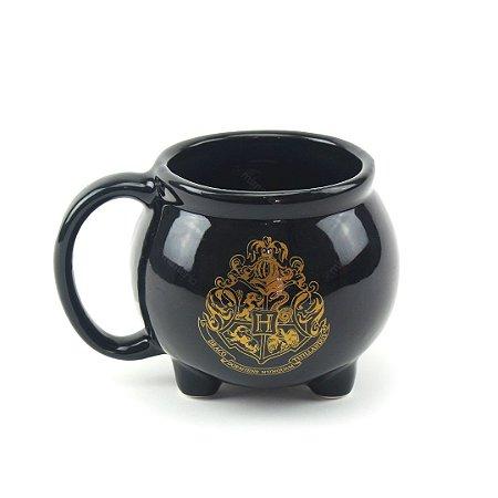 Caneca Decorativa de Porcelana 3D Harry Potter Caldeirão