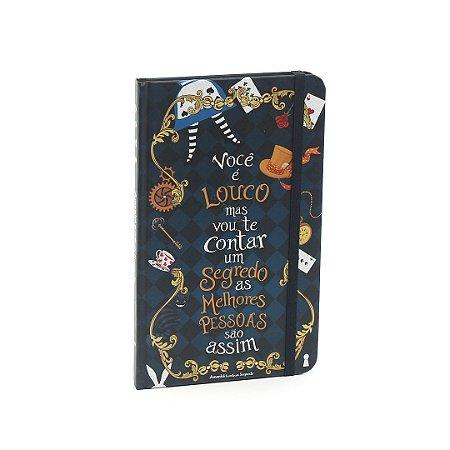 Caderno Criativo com Elástico Alice