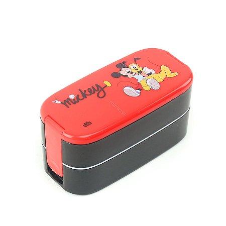 Lunch Box Marmita 2 Compartimentos Mickey e Pluto