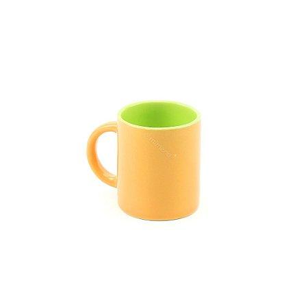 Caneca Colors Duo Laranja e Verde