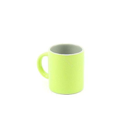 Caneca Color Duo Verde e Cinza