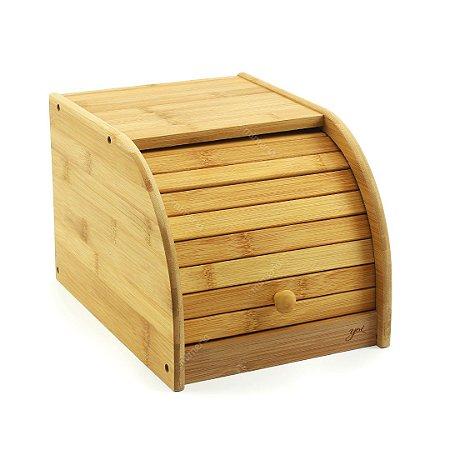 Porta Pão em Bambu Pequeno