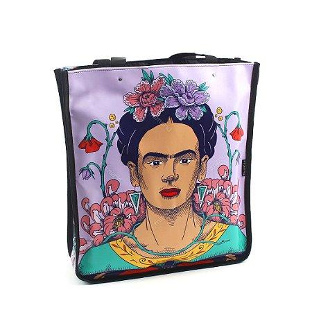 Bolsa Sacola Bag Frida Kahlo Flor de Maracujá