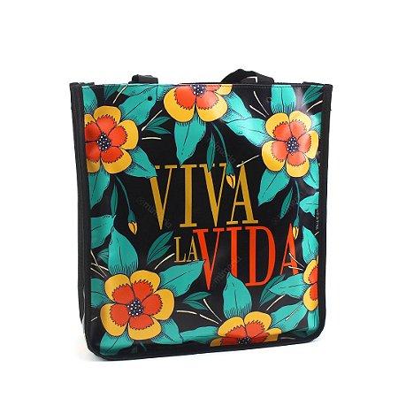Bolsa Sacola Bag Frida Kahlo Viva La Vida