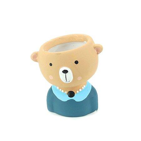 Cachepô de Cerâmica Urso