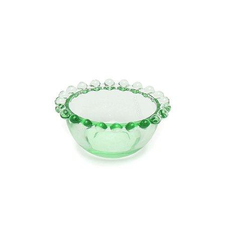 Mini Bowl de Vidro Bolinhas Verde