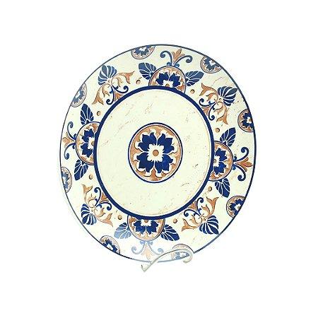 Prato Decorativo Grande Azulejo