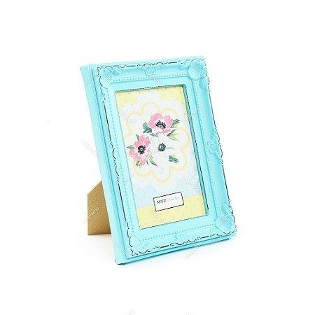 Porta Retrato Vintage Candy Azul 10x15