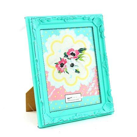 Porta Retrato Vintage Candy Verde 20x25