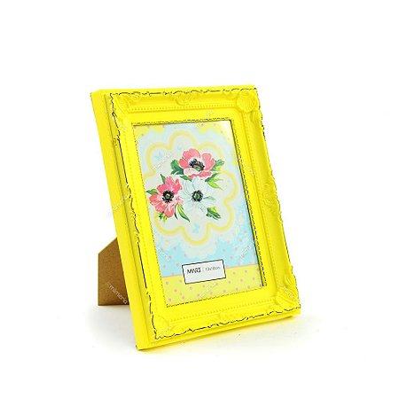 Porta Retrato Vintage Candy Amarelo 13x18