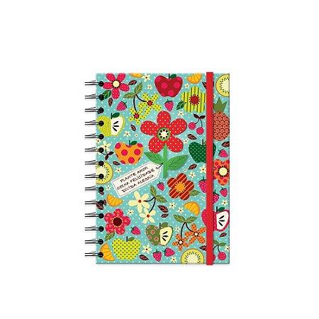 Caderno Médio Decorado Tropical