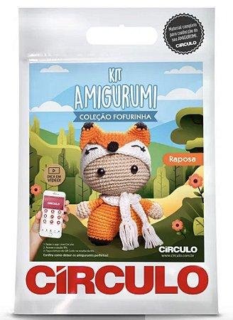 Kit Amigurumi Fofurinha Círculo - Raposa