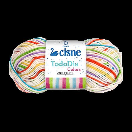 Lã Cisne Todo Dia Colors 100g Cor 72400